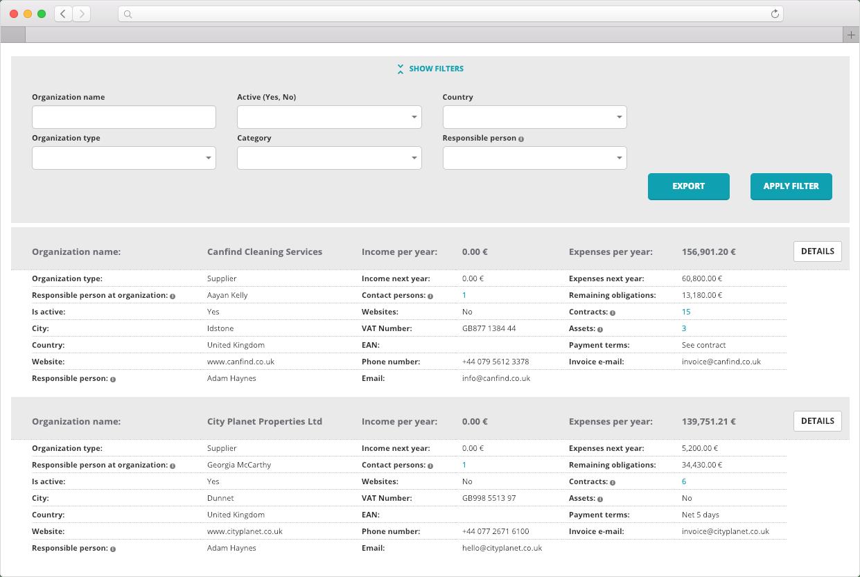 Organizations-Contractpedia-Feature